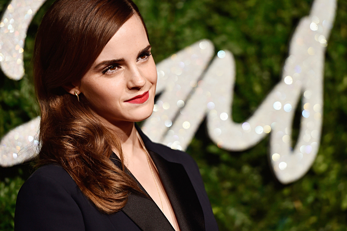 LONDON, ENGLAND - DECEMBER 01:  Emma Watson attends the British Fashion Awards at London Coliseum on December 1, 2014 in London, England.  (Photo by Pascal Le Segretain/Getty Images)